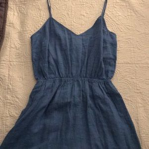 Blue J.Crew summer dress in women's size small!